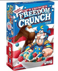 Cap'n' Crunch Freedom Crunch Cereal