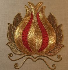 Learn Goldwork Embroidery | London Embroidery Club