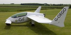 Personal Plane Fits in Your Garage: The e-Go debuted last week and it's pretty sweet.