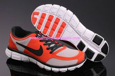 Hot Pink Nikes Neon Punch Nike Free 7.0 V2 Tangerine lime White 396044-002   #Pink #Womens #Sneakers