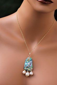 Abalone Jewelry, Seashell Jewelry, Agate Jewelry, Copper Jewelry, Beach Jewellery, Unique Jewelry, Pearl Jewelry, Jewelry Ideas, Diy Jewelry