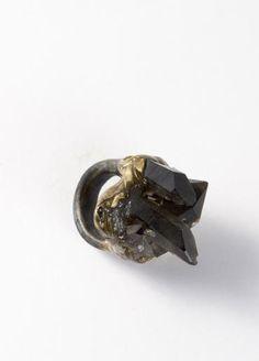 Adina Mills Smoky Quartz Ring