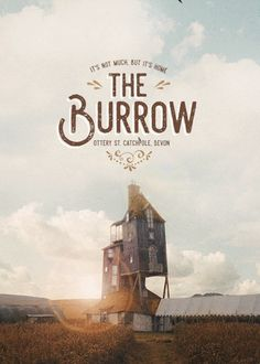The Burrow - Harry Potter gif