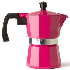 Pantone - Stovetop Coffee Maker 3 Cup Hot Pink