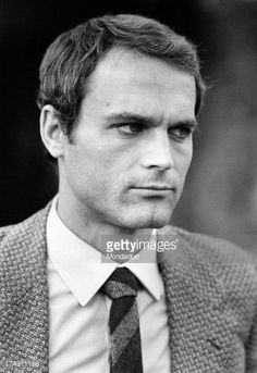 Portrait of Italian actor Terence Hill (Mario Girotti). Rome, 1971.