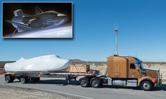 """#DailyMailUK ..... """"Sierra Nevada Corporation has delivered its Dream Chaser spacecraft to Edwards Air Force Base ahead of its 2019 missions to supply cargo to the International Space Station.""""...  http://www.dailymail.co.uk/sciencetech/article-4165576/The-undercover-return-space-shuttle.html#ixzz4XBJyhAUC"""