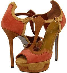 Sergio Rossi Brown High Heel Sandals in Brown (p) - Lyst