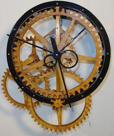 Marc Tovar's Wooden Clockworks