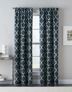 Casbah Trellis Light Blocking Curtain Panel / Curtainworks.com