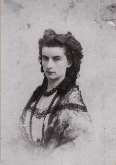 Queen Maria Sofia of Naples, nee Sophie in Bayern (sister of Kaiserin Sissi)