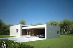 Modern Style House Plan - 3 Beds 2 Baths 1539 Sq/Ft Plan #552-2 Exterior - Other Elevation - Houseplans.com