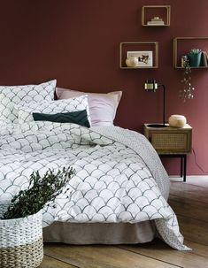 Nachttisch La Redoute Interieurs - New Deko Sites Girls Bedroom, Master Bedroom, Bedroom Decor, Decor Interior Design, Room Inspiration, Duvet Covers, Sweet Home, New Homes, Art Deco