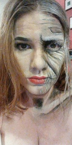 Aging Diva facepainting Face Art, Diva, Halloween Face Makeup, Makeup Art