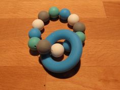 Silicone Teething Ring A beautiful colourful teether that your baby will love! The ring and beads are made from food grade Teething, Food Grade, Beads, Unique Jewelry, Handmade Gifts, Rings, Etsy, Beautiful, Beading
