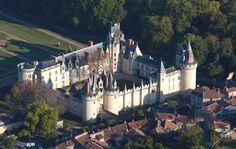 Château de Dissais (Vienne) région Poitou/Charente France