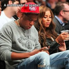 """Até a Beyoncé está """"de olho"""" http://www.maiscelular.com.br"""