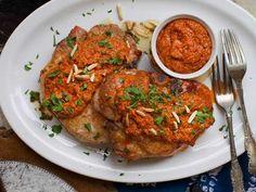 Recipe: Pork Chops with Romesco Sauce