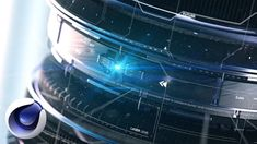 Разбор проекта Sci-Fi Lens в Cinema 4D