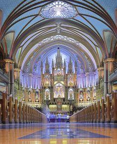 Notre-Dame Basilica de Montreal, Quebec