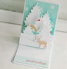 Opening this card is a present all by itself.  Gorgeous!!