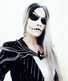 "Inspiration & Accessories: DIY Nightmare Before Christmas Jack Skellington Halloween Costume Idea - ""I'm a master of fright, and a demon of light, and I'll scare you right out of your pants"" #jackskellington #jackskellingtoncosplay…"