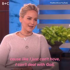 Jennifer Lawrence Knows How to Party and We Are HERE For It,Funny, Funny Categories Fuunyy It's official – we want to hangout with Gail. 😂🍹 Source by britandco. Funny Video Memes, Funny Short Videos, Really Funny Memes, Stupid Funny Memes, Funny Laugh, Funny Relatable Memes, Hilarious, Funny Tweets, Jennifer Lawrence Video