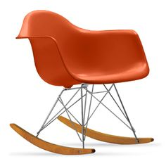 Eames® Molded Plastic Rocker (RAR)  Designed by Charles and Ray Eames for Herman Miller®  available at Design within Reach
