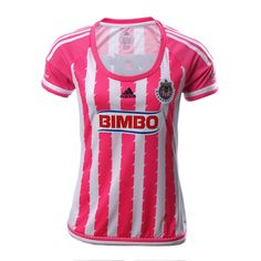 Jersey Chivas Local Rosa 15/16 - Mujer
