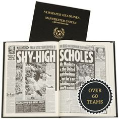 Personalised Football Book from Personalised Gifts Shop - ONLY £44.99