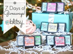 Enter to win cool prizes at Blitsy and visit their site on Black Friday for some incredible deals in crafts here:  http://blitsy.com/