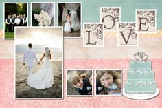 scrapbook wedding double page layouts | Card Ideas Scrapbooking ...