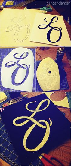Decorate your Graduation Cap (using freezer paper)
