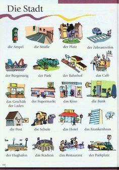 Die Stadt. German. Alemán. ':