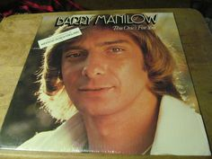 Barry Manilow, This One's For You, (1976) 33 RPM VINYL, AL-4090, 873,