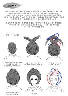 Korean Hanbok, Korean Dress, Korean Outfits, Korean Traditional Dress, Traditional Fashion, Traditional Dresses, Natural Hair Styles For Black Women, Long Hair Styles, Korean Art