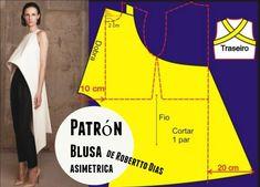Robertto Días comparte patrones costura