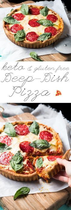 Anabolic Cooking Cookbook - Gluten Free & Keto Deep Dish Pizza The legendary Anabolic Cooking Cookbook. The Ultimate Cookbook and Nutrition Guide for Bodybuilding & Fitness. More than 200 muscle building and fat burning recipes. Keto Foods, Ketogenic Recipes, Paleo Recipes, Low Carb Recipes, Cooking Recipes, Induction Recipes, Keto Meal, Pizza Sans Gluten, Low Carb Pizza