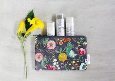 Lip Balm Gift Set Tea Lover's Lip Care  Zipper Pouch by Apple White https://www.etsy.com/listing/207730325/lip-balm-gift-set-tea-lovers-lip-care