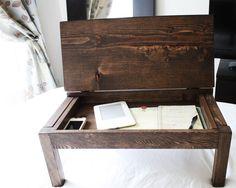 17 fascinating diy lap desk images desks lap desk with storage rh pinterest com