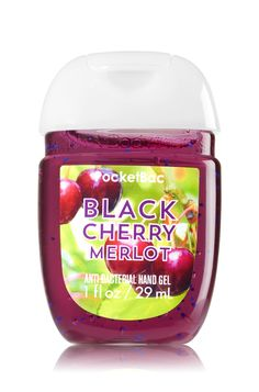 Black Cherry Merlot PocketBac Sanitizing Hand Gel - Soap/Sanitizer - Bath & Body Works
