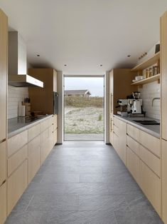 knud holscher builds residence in the danish island of fanø with interiors by staffan tollgard Best Interior Design, Interior Design Kitchen, Kitchen Decor, Interior Shop, Nordic Interior, Kitchen Shelves, Danish Kitchen, Scandinavian Kitchen, Scandinavian Modern