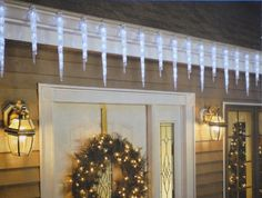 GE 19 Count Twinkling LED Ice Crystal Icicle Set * Check this awesome product by going to the link at the image.