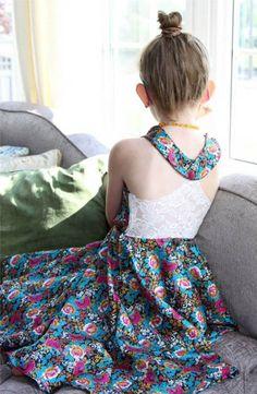 NEW Cyan Lily Dress & Tunic PDF - Mandy K Designs - 12M-14 +Doll - $8.95 : Whimsical Designs