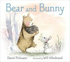BEAR AND BUNNY by Daniel Pinkwater and illustrated by Will Hillenbrand. Best friends Bear and Bunny wander through the woods looking for food, singing songs, and talking about what kind of pet they might like to adopt. Bunny Book, Bunny And Bear, Love Bear, Children's Picture Books, Forest Friends, Songs To Sing, New Pictures, Cute Art, Childrens Books