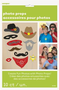 Western Photo Booth Props - Bartz s Party Stores d902c22f3a9c