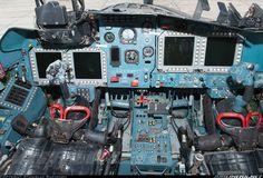 """Sukhoi Su-34 """"Fullback"""" cockpit"""