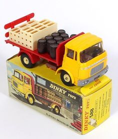 French Dinky 588 Berliet Beer Lorry