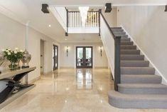 5 bedroom detached house for sale in Fairacres, Cobham, Surrey - Rightmove. House Stairs, House, House Entrance, Modern House Design, Building A House, New Homes, Modern House Exterior, House Blueprints, Stairs Design Modern