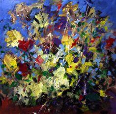 Mario Zampedroni, Flores abstractas. http://fineartamerica.com/featured/1-floral-asbtract-mario-zampedroni.html# mario zampedroni, color, abstract floral, flower paintings, floral abstract, abstract flower, flower power, flore abstracta, artlandscap ii