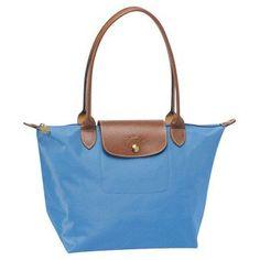 Longchamp Le Pliage Classic Medium Tote Bags Blue